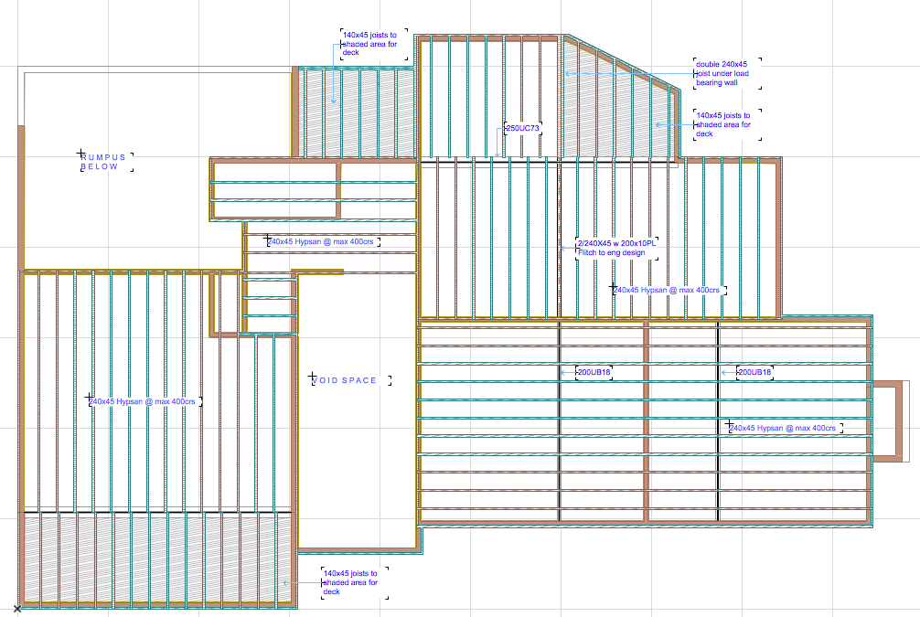 Cadimage Blog » 3D document for Mid Floor framing plan