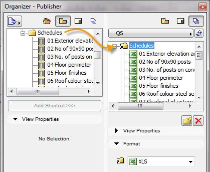 QS Excel export