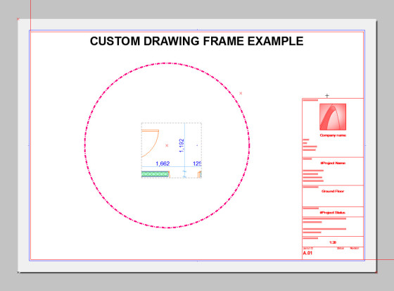 custom drawing frame 3
