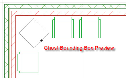 Ghost Bounding Box Preview