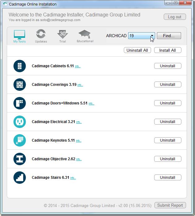 Cadimage archicad 21 download | دانلود ابزارهای Cadimage برای