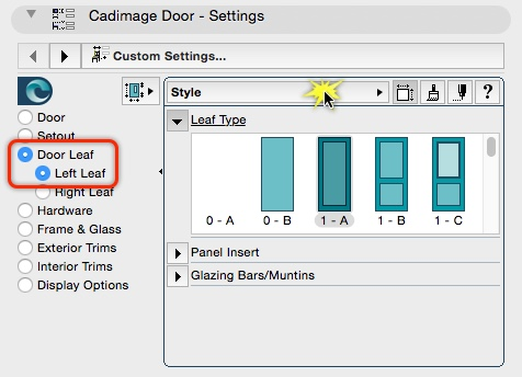 Finding the Door Leaf dimensions is a question we are often asked on the support desk. They are available in a subset of Leaf settings (Door Leaf\u003e Left or ...  sc 1 st  Central Innovation & Finding the Door Leaf dimensions