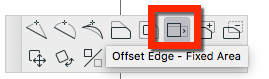 Offset Edge Fixed Area